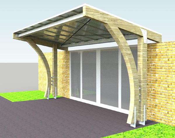 Setter Shelters News Blog Archive New Entrance Canopy At
